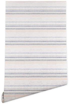 Deny Designs Holli Zollinger French Linen Stripe Navy Wallpaper