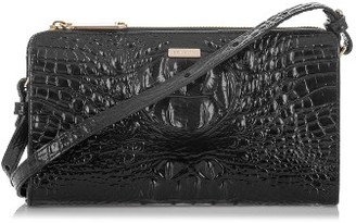 Brahmin Sienna Leather Crossbody Bag - Black $195 thestylecure.com