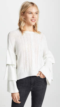Cupcakes And Cashmere Kristin Cable Knit Sweater