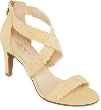 Liz Claiborne Womens Gisela Heeled Sandals