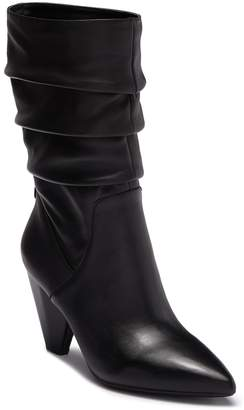 Anne Klein Yukira Leather Slouch Boot