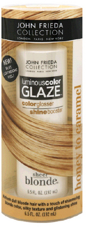 John Frieda Sheer Blonde Luminous Color Glaze,Honey to Caramel
