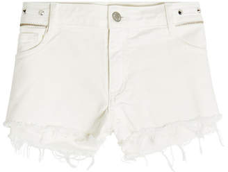 Zadig & Voltaire Paly Spikes Cut-Off Shorts