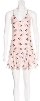 Milly Silk Pelican Dress w/ Tags