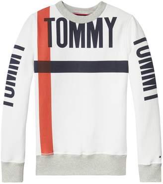 Tommy Hilfiger TH Kids Bold Stripe Crewneck