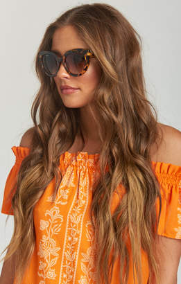 Show Me Your Mumu Perverse Sunglasses ~ Dahlia ~ Tort