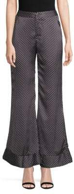 Lucca Couture Isla Printed Wide-Leg Pants