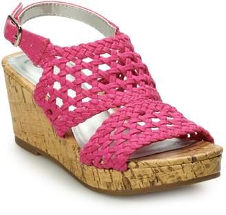 So SO Peaceful Girls' Wedge Sandals