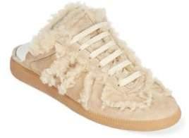 Maison Margiela Dyed Shearling Slip-On Slide Sneakers