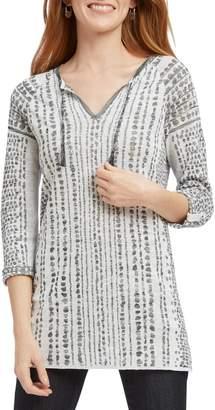 Nic+Zoe Natural Instinct Jacquard Sweater