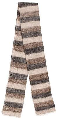 Denis Colomb Wool Blend Woven Scarf