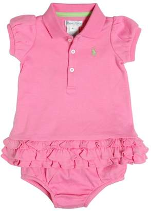 Ralph Lauren Cotton Jersey Dress & Diaper Cover