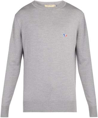 MAISON KITSUNÉ Crew-neck wool sweater