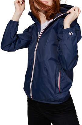 Sloane O8 Lifestyle Full-Zip Packable Rain Jacket