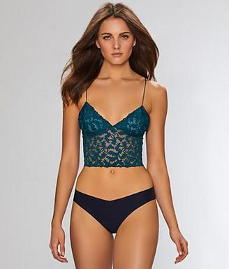 Free People Lacey Lace Brami Cropped Bralette $38 thestylecure.com