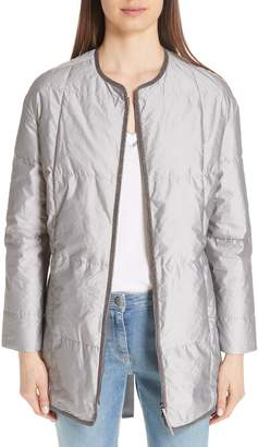 Fabiana Filippi Quilted Tech Fabric Jacket