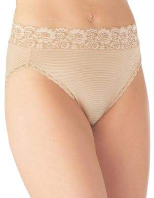 Vanity Fair Flattering Lace Hi-Cut Panties