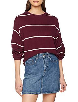 New Look Women's Cosy Stripe 5947184 Jumper,8 (Manufacturer Size:51)