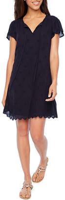 ST. JOHN'S BAY Eyelet Dress - Tall