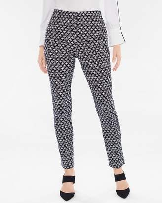 Chico's Juliet Geo Ankle Pants