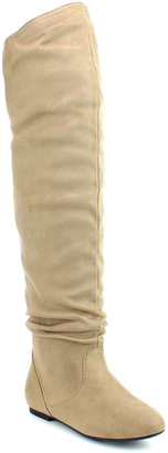 Taupe Kayson Over-the-Knee Boot $49.99 thestylecure.com
