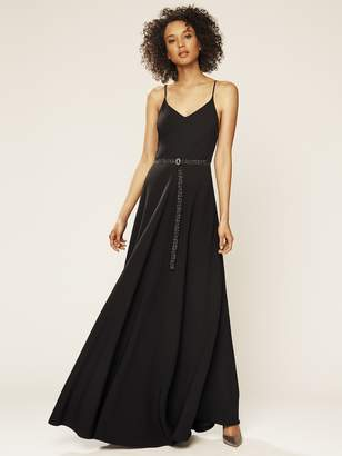 Sarah Jessica Parker Women's Belted Maxi Dress