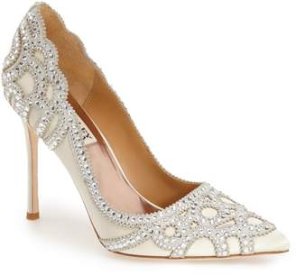 Badgley Mischka Collection 'Rouge' Pointy Toe Pump