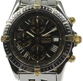 Breitling Crosswind B13355 Gold Plated Stainless Steel Automatic 43mm Mens Watch