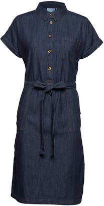 Kaffe Kanatasia Denim Dress - 36 | blue | cotton - Blue/Blue