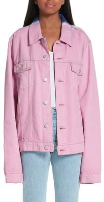 Martine Rose Tie Dye Denim Jacket