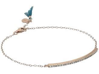 Shashi Bar Pave Bracelet