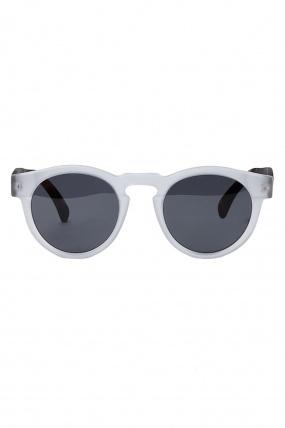 Illesteva Leonard Sunglasses Matte Clear and Havana