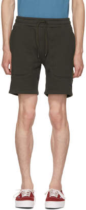 Dickies Construct Black Panelled Sweat Shorts