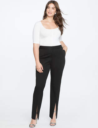 Slim Leg Trouser with Slits