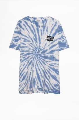 Zadig & Voltaire Tobias Dalmatien T-Shirt