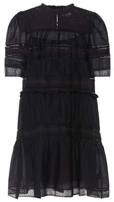 Etoile Isabel Marant Isabel Marant, Étoile Mixed lace-trimmed dress