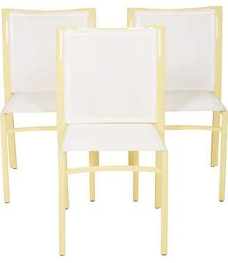 Set of 3 Ego Paris Outdoor Side Chairs