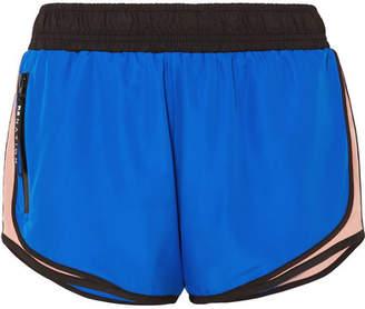 P.E Nation Sprint Vision Color-block Shell Shorts - Blue