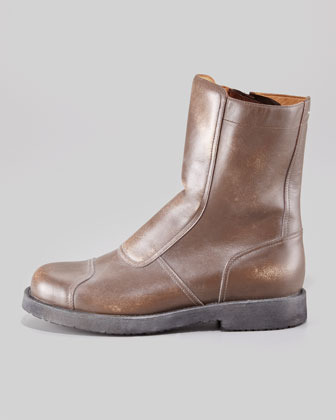Maison Martin Margiela Limited-Edition Leather Biker Boot 2