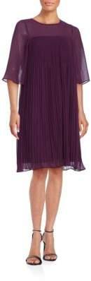 Erin Fetherston Pleated Illusion Dress