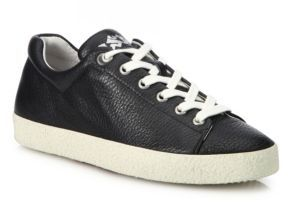 Ash Nicky Bis Leather Sneakers $198 thestylecure.com