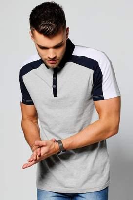 boohoo Short Sleeve Polo