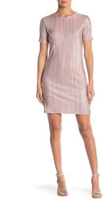 Velvet Torch Crinkle Short Sleeve Dress