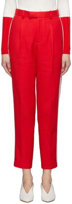 Comme Moi Stripe outseam twill suiting pants