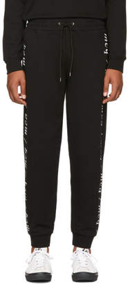 McQ Black Dart Sweatpants