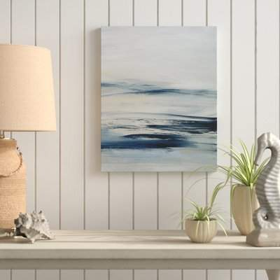 Wayfair 'Drifting Tides II' Oil Painting Print on Wrapped Canvas