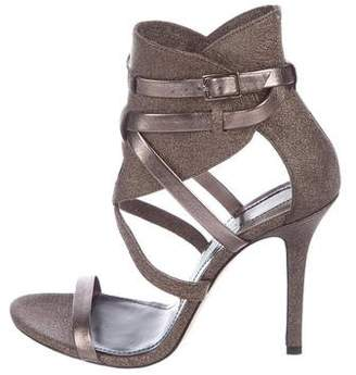 Camilla Skovgaard Leather Metallic Sandals w/ Tags
