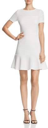 Aqua Ruffle-Hem Pointelle Dress - 100% Exclusive