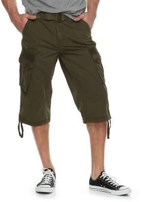 X-Ray Xray Men's XRAY Messenger Belted Cargo Shorts
