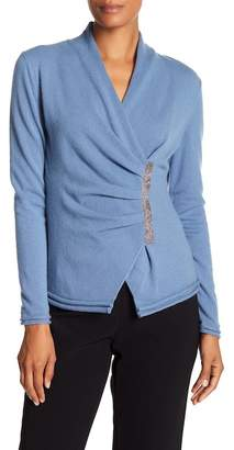 Lafayette 148 New York Chain Detailed Cashmere Sweater